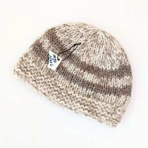 Accessories - NWT Cowichan Style Handknit Wool Hat / Toque